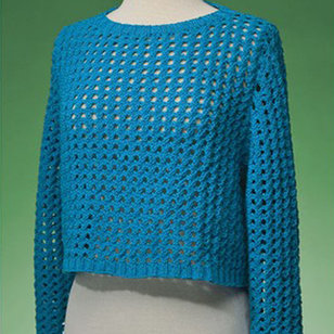 171 Top-Down Cropped Pullover PDF