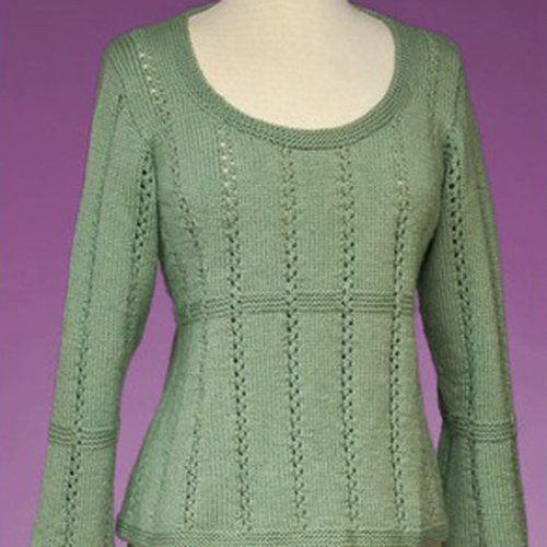 View larger image of 172 Top-Down Empire Waist Pullover PDF