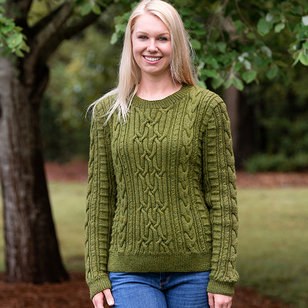 198 Aberdeen Cabled Pullover PDF