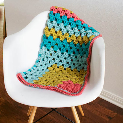 View larger image of Super Bulky Baby Blanket PDF