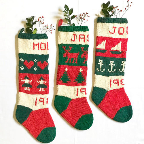 View larger image of 10 Classic Christmas Stockings