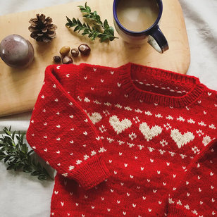 2 Child's Heart & Doll Sweaters PDF