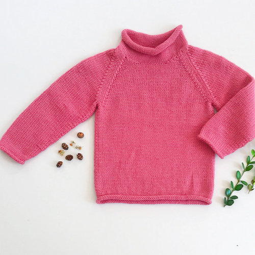 View larger image of 21 Roll Raglan for Children & Adults