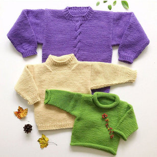 30 Easy Bulky Sweater for the Family