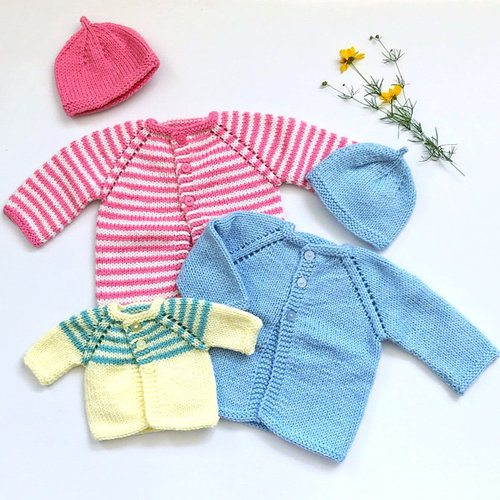 View larger image of 31 Baby Sweaters, Hat & Blankets PDF