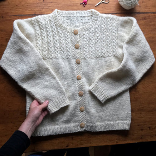 View larger image of 8 Mock Cable Pullover & Cardigan PDF