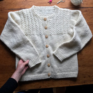 8 Mock Cable Pullover & Cardigan PDF